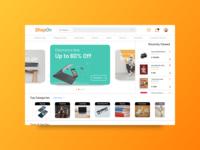 Online Shopping - UI #013