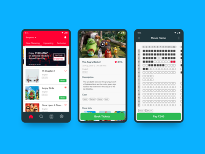 Movie Ticket Booking - UI #018