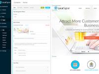 LocalSignal UI Design