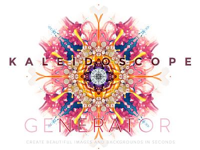 Kaleidoscope Generator PSD pattern kaleidoscope mandala mockup smartobject psd free background seamless