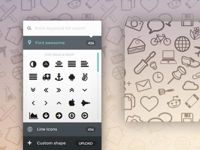 Seamless Icon Pattern Generator - PatternICO
