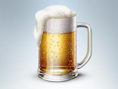 Dribbble beer