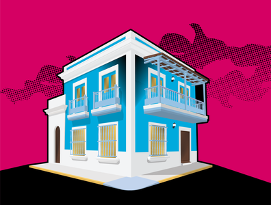House, Viejo San Juan, Puerto Rico
