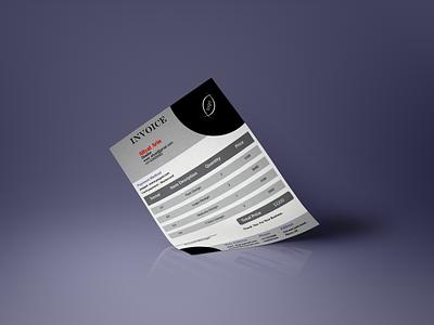invoice Design illustrator