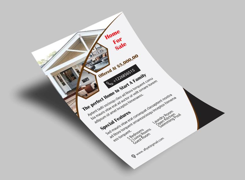 Flyer design illustrator brochure design banner design flyer design
