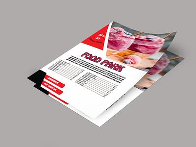 Flyer Design typography banner design brochure design flyer design photoshop illustrator