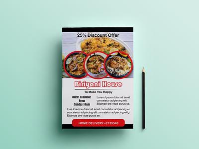 Flyer Design typography brochure design flyer design banner design photoshop illustrator