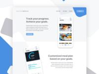 SquareMeals Landing Page