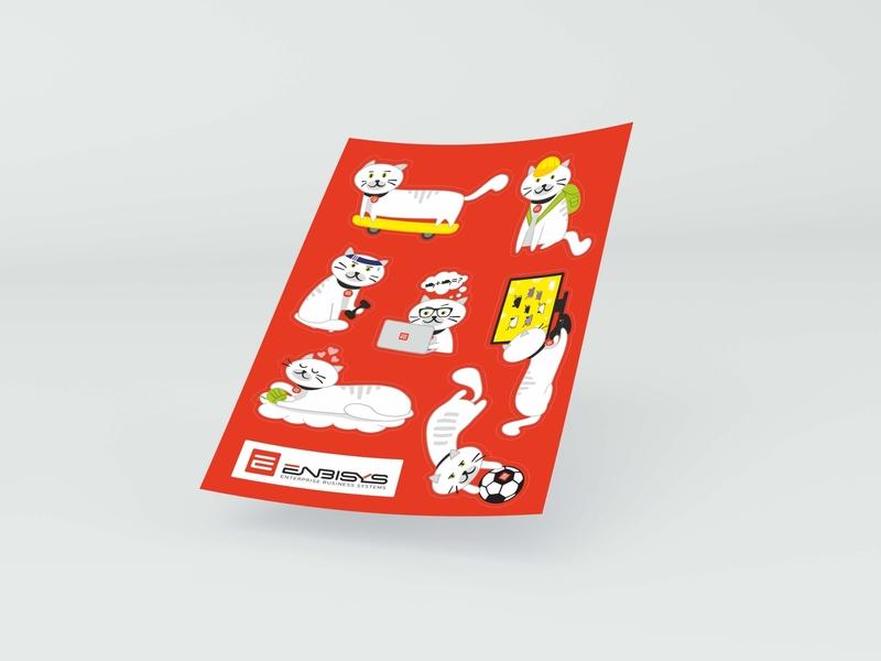 Corporate school pack typography design notebook schedule stickers pack school