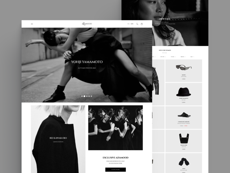 Online Shop story shop ui  ux landing page design landingpage website design webdesign website