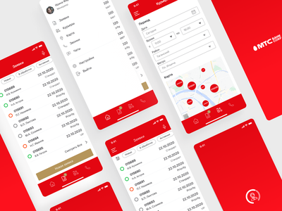 Corporate Mobile App for Bank Employees logistics mobile ui mobile app banking ui iphonex ux  ui iphone x iphone app design