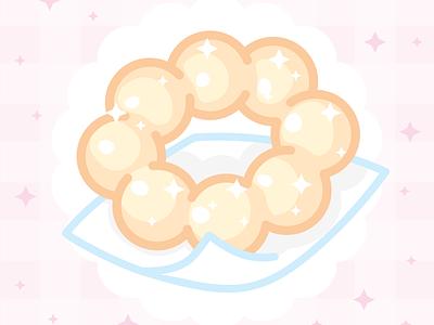 Mochi Donut pastel donut digitalart ipad vector