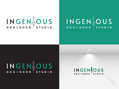 Logo Design - Ingenious Designer Studio creative design designer logo design logo illustration design vector typography creative graphic design branding marketing
