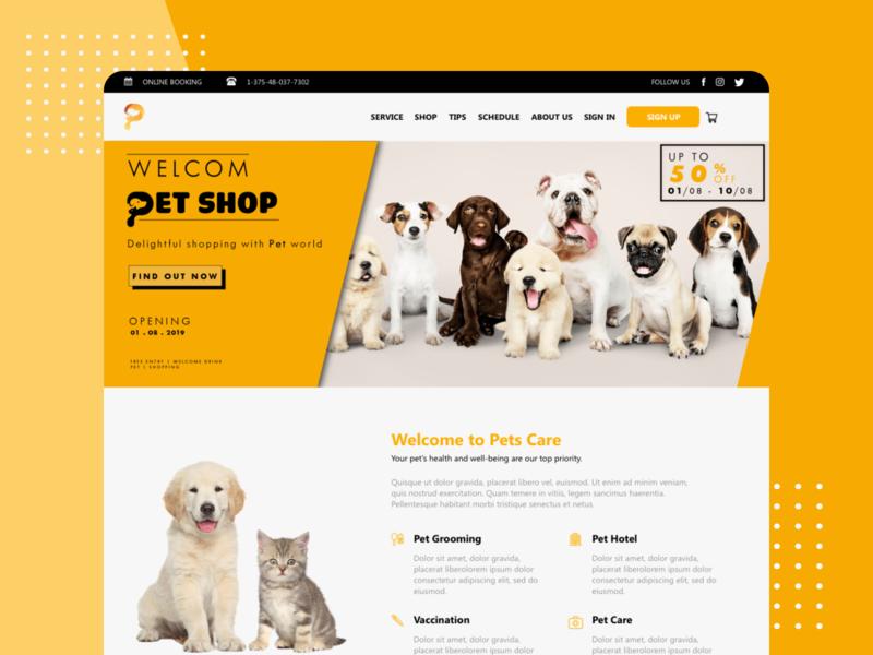 Pedoz - Pet Service Web UI Kit app ui kit ui kit app ui kit ui app booking map service pet