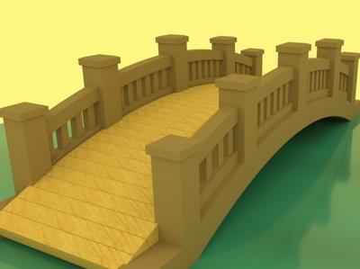 Bridge maya 3dmodelling 3dmodel 3d