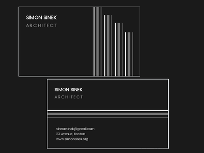 Business card designe for a client texture flat hire style job business card businesscard business minimal typography logo design branding