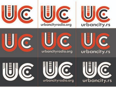 UC local media house marketing localmedia letterlogo logos logotype mockup letters typography desing logodesign media logo news local