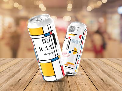 Art Soda product designer design show happines love label package caffein alkohol art seltzer tallcan can soda sok ukus inspiracija