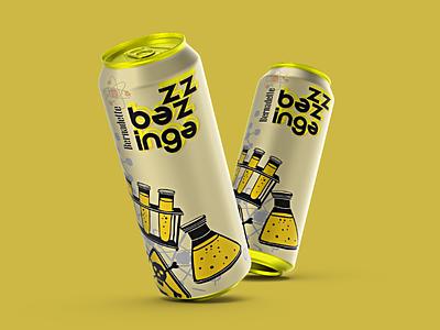 Big Bang Theory graphicdesigner designer fun portfolio show thebigbangtheory soda microbiology mockup can tallcan series bigbangtheory bernadette tbbt