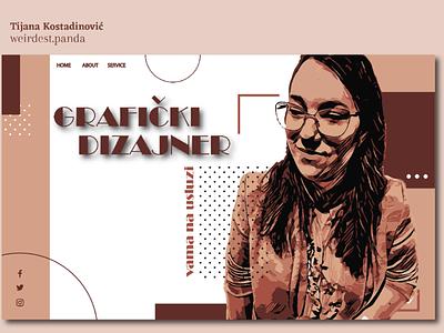 Graphic designer mockup site instagram colors uxdesigne pencil draw portret portrait designe designer ux ui website web graphicdesigne graphicdesigner