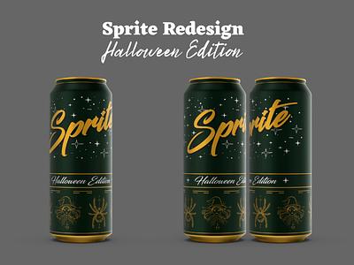 Sprite Halloween Edition sprite redesign soda drink
