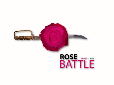 Rose BATTLE ( Trust or Not ) dribbblebehancelogo