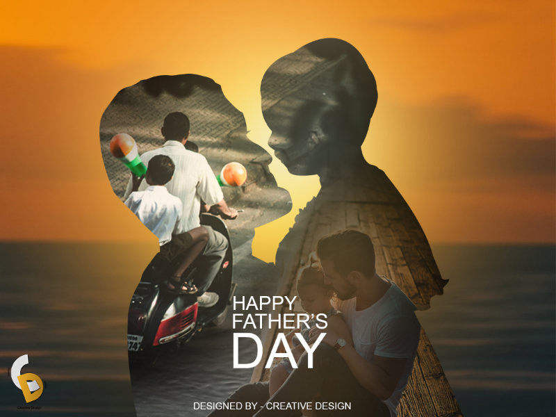 Father's day Poster dribbble