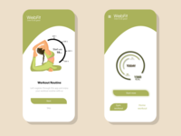 FITNESS APP UI DESIGN graphicdesign follow invite illustration appui fitness app uiuxdesign uiux ui design creative ui dribbble