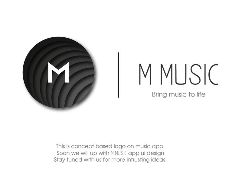 Logo design follow invite uiux music logo music app logo design logo illustration graphicdesign ui dribbble
