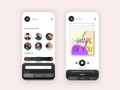 UI DESIGN latest ui latest music app ui uiux design invite music app branding uiux ui design illustraion graphicdesign ui dribbble