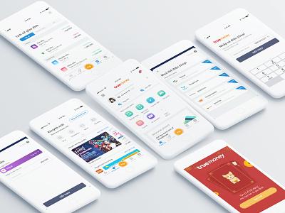 TrueMoney e-Wallet ascend cp group true truemoney money ux ui wallet app