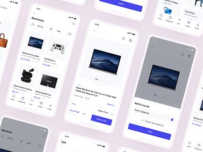 Cervo ✦ E-commerce App UI Kit app ui kit pixel-perfect figma clean modern mobile app ui kit mobile mobile app e-commerce app store fashion e-commerce ui kit