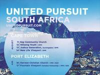 United Pursuit Tour Flyer