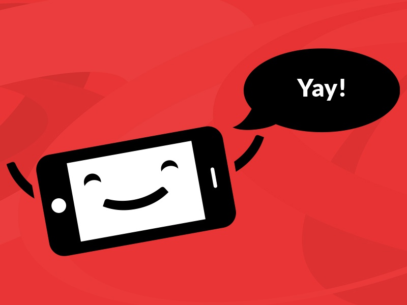 Fomo is happy opera meadiaworks mobile character