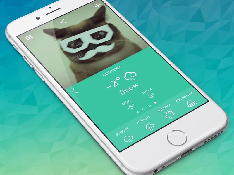 Giffy Kitty giffy kitty weather ios app