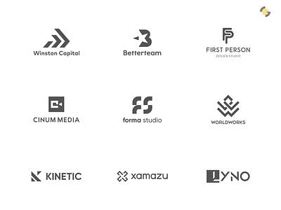 LOGOFOLIO 2021 Vol. 1 collection graphic design modern branding logo mark logo design logofolio