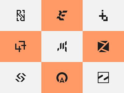 Logofolio 2021 Vol 2 | Logos | Brand Marks graphobian minimalist modern flat logo collection emblem graphic design brand identity branding brand mark icon logo logo design logofolio