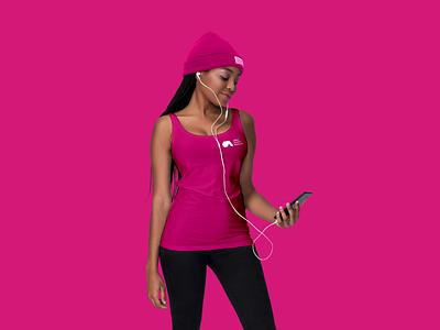 Alter Music Festival - T-shirt design pink clothes t-shirt festival concert alternative music vector signet minimal logo design brand identity logo design brand branding