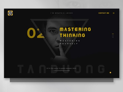 New idea for my portfolio portfolio shape yellow