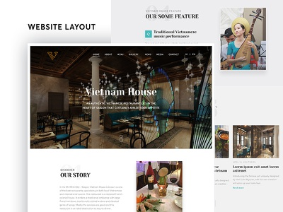 Restaurant Homepage restaurant website homepage uiux