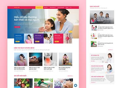Healthcare Homepage Concept marudesign homepage healthcare