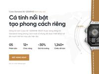Casio Landing Page Concept
