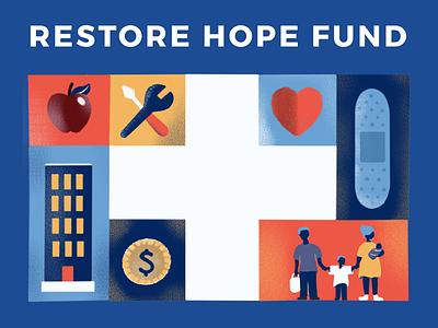 United Way Restore Hope nonprofit assistance donation fund hope covid-19 united way