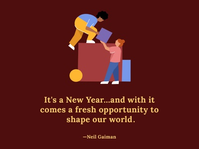 New Years indiegogo creative quote new year 2021 goals goal newyears