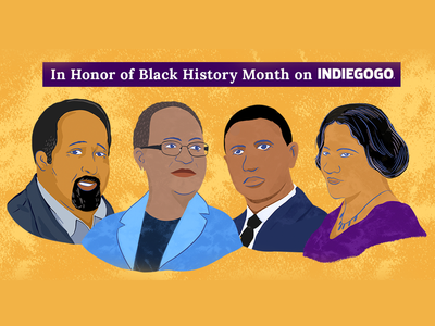 Black History Month illustration chattanooga indiegogo inventors february black blackhistorymonth