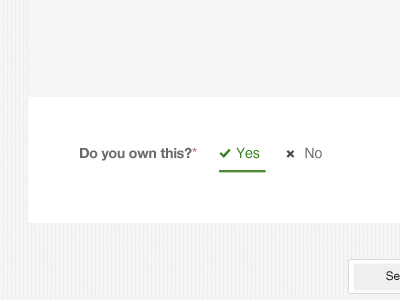 Yes or No, It's sexy! ;) decidequick radio button forms