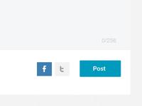 Post + Share form / DecideQuick.com