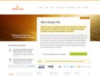 Saffron Labs - landing page