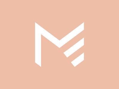 ME Training ui vector branding logo design girl logo women logo sport logo personal branding personal trainer mlogo melogo