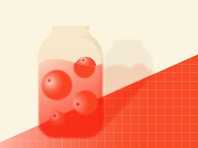 Russian Lemonade illustration childhood home juice apple lemonade drink summertime summer camp summer minimal illustrator editorial illustration